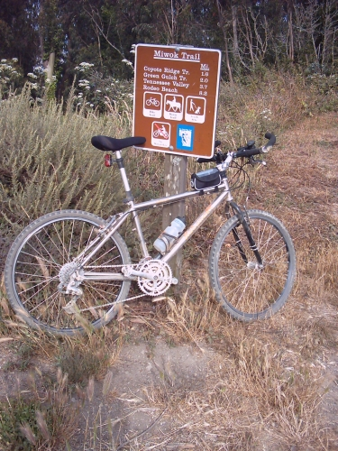 A rest before Miwok trail