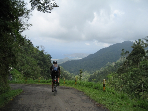 Descent into Candidasa