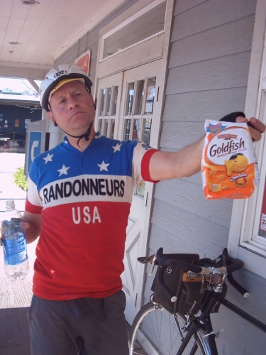 John shares fuel in Cloverdale