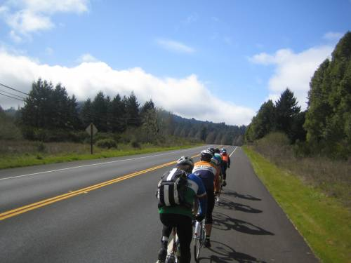 Russian River paceline
