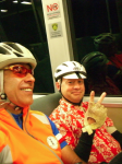 Early morning BART ride  » Click to zoom ->