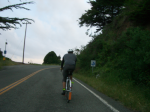 And the climb to Hwy 1  » Click to zoom ->