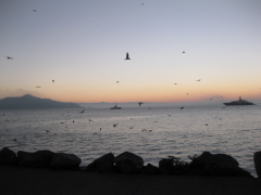 Bay from Sausalito  » Click to zoom ->