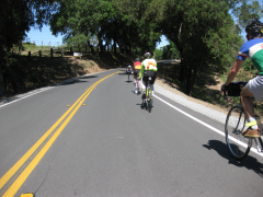 Following Tim W on his recumbent  » Click to zoom ->