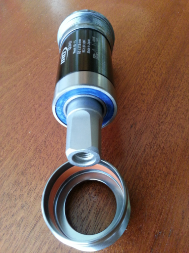 IRD QB-75 Bottom Bracket, sealed bearings